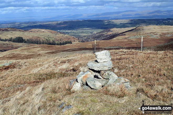 Walk Hare Shaw walking UK Mountains in The Far Eastern Fells The Lake District National Park Cumbria    England