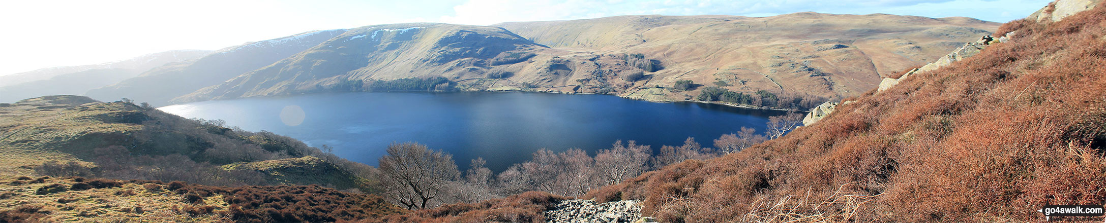 Haweswater Reservoir from Wallow Crag (Naddle Forest)