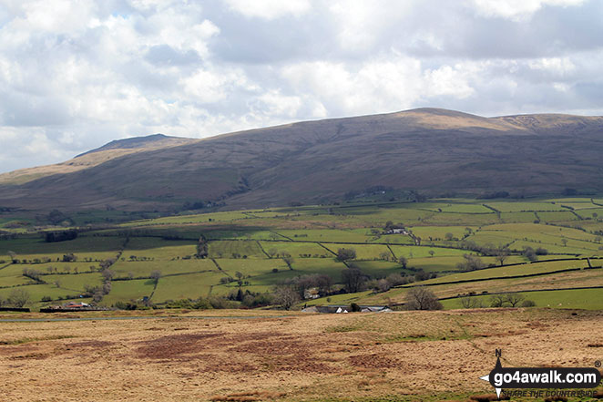 The Uldale Fells from Faulds Brow