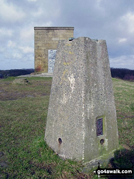 Billinge Hill summit trig point