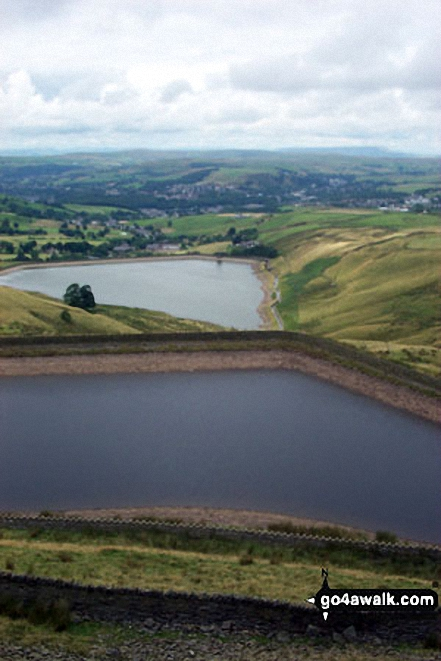 Cowpe Reservoir from Cragg High Level Tank