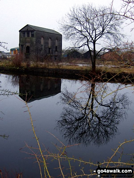 Old building on the Ulverston Canal