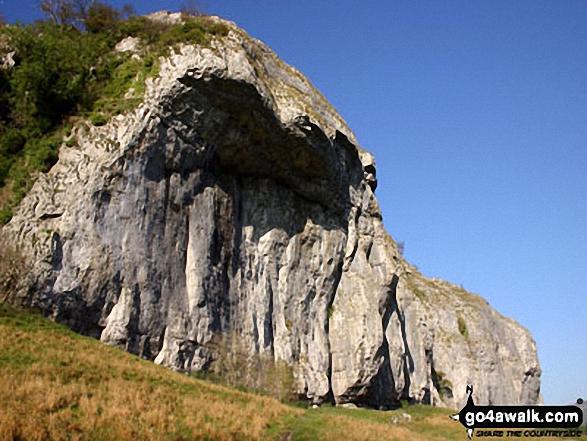 Kilnsey Crag near Conistone
