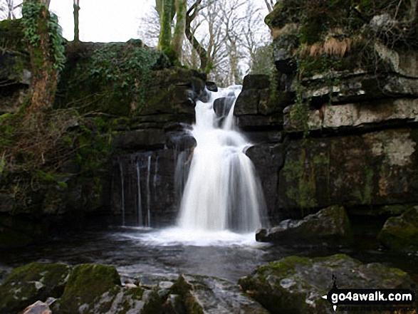 Waterfall above Muker