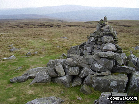 Jack Standards Cairn on White Mossy Hill