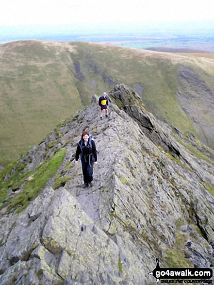 Sharp Edge in, Blencathra (or Saddleback)