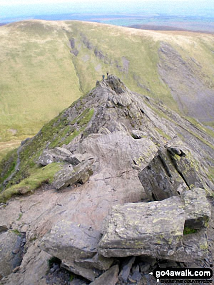 On Sharp Edge, Blencathra (or Saddleback)