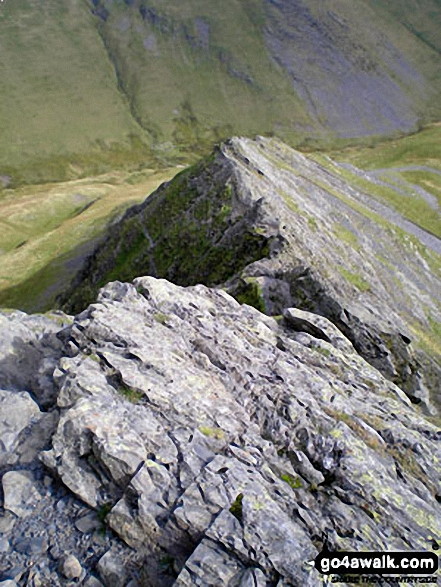 Sharp Edge in all its glory, Blencathra (or Saddleback)