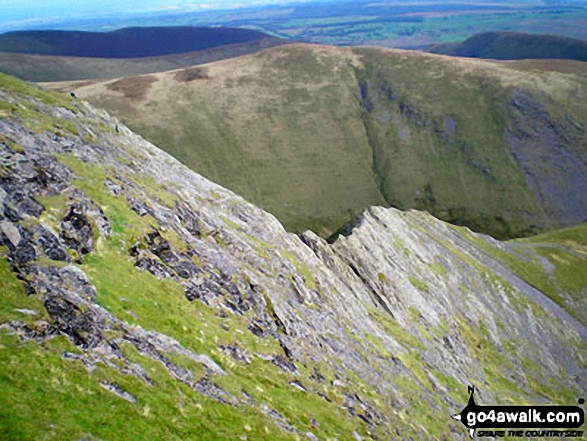 Sharp Edge from Atkinson Pike, Blencathra (or Saddleback)