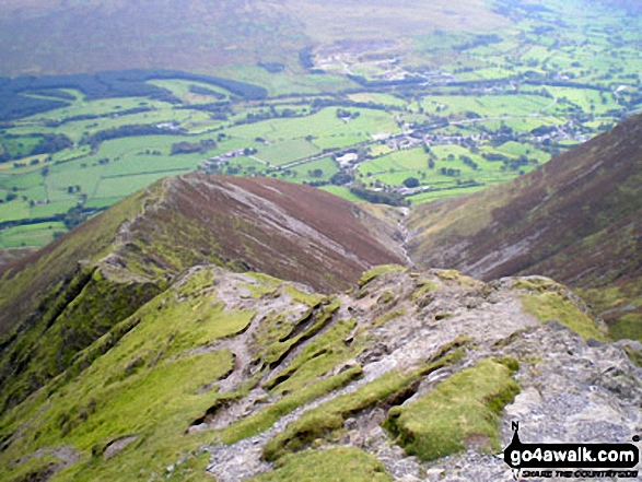 Hall's Fell Ridge from Hallsfell Top, Blencathra or Saddleback
