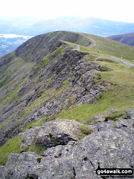 On Blencathra or Saddleback