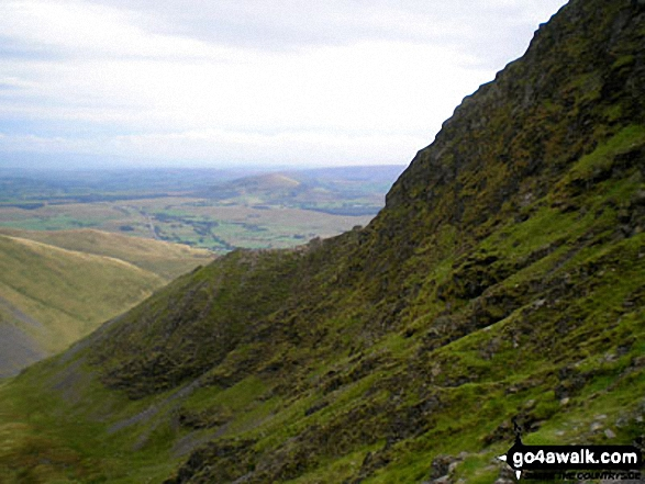 Sharp Edge from Foul Crag, Blencathra or Saddleback