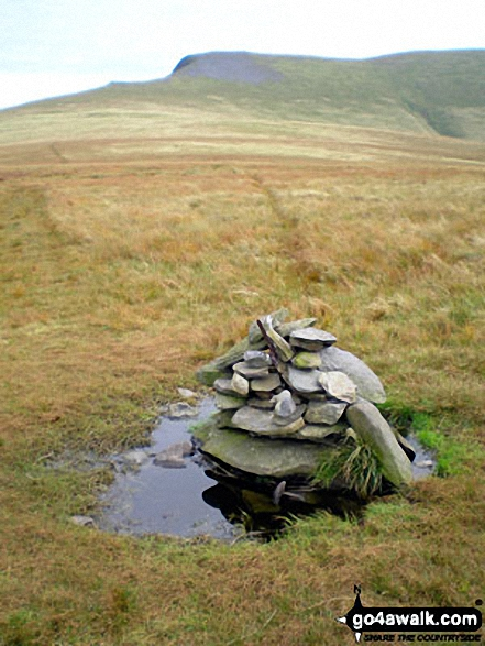 Mungrisdale Common summit cairn