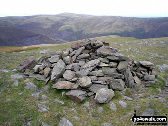 Bowscale Fell summit cairn