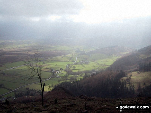 The Bassenthwaite Valley from Barf