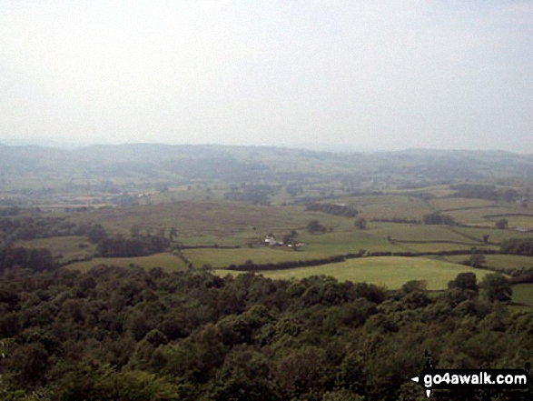 The view from Scout Scar (Barrowfield). Walk route map c190 Scout Scar from Kendal photo