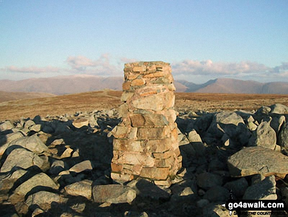 High Raise (Langdale) summit trig point