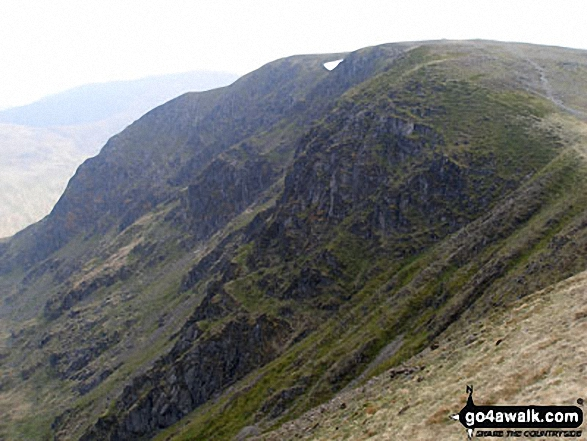 Nethermost Pike and Dollwaggon Pike from Helvellyn