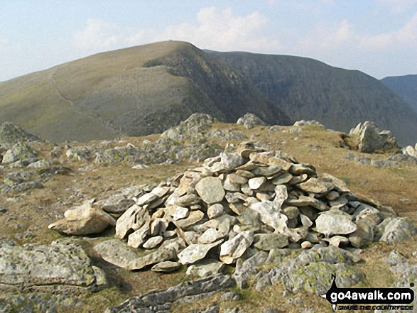 Dollywaggon Pike summit cairn