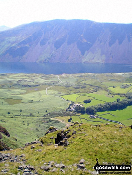 Illgill Head and the Wast Water Screes from Buckbarrow