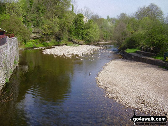 The River Eden from Frank's Bridge, Kirkby Stephen