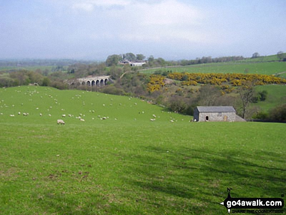 Podgill viaduct and the vale of eden in the yorkshire for Eden hill walk in