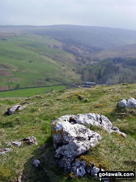 High Dukerdale from Birkett Hill summit