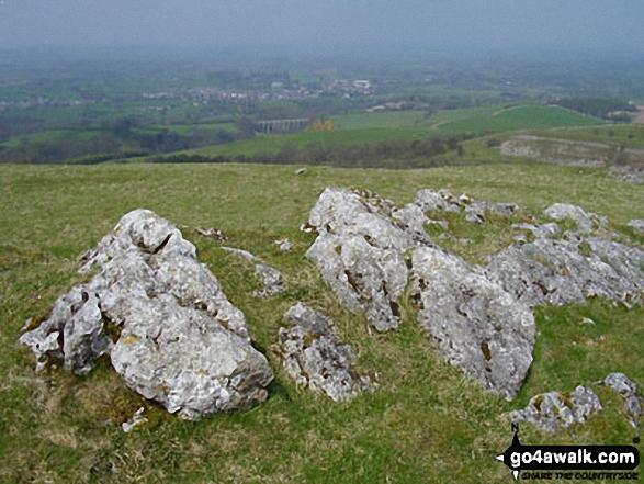 Birkett Hill summit rocks