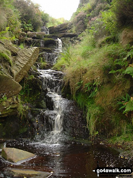 The Bronte Wateralls near Haworth
