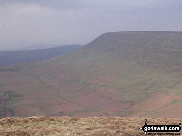 Hay Bluff from Lord Hereford's Knob (Twmpa)