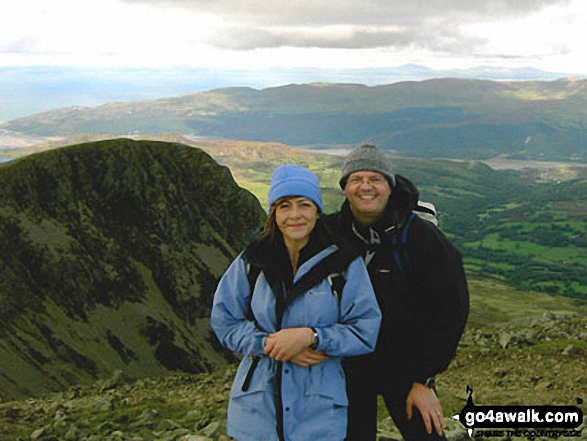 Mike and Alex Wilson on Cadair Idris