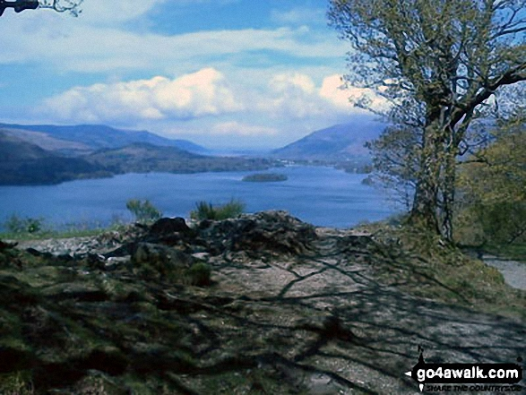 Derwent Water and Keswick from Surprise View