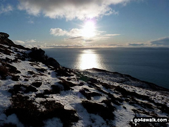 The view from Cnoc Moy, Mull of Kintyre