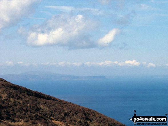 The Isle of Islay from Cnoc Moy on Mull of Kintyre