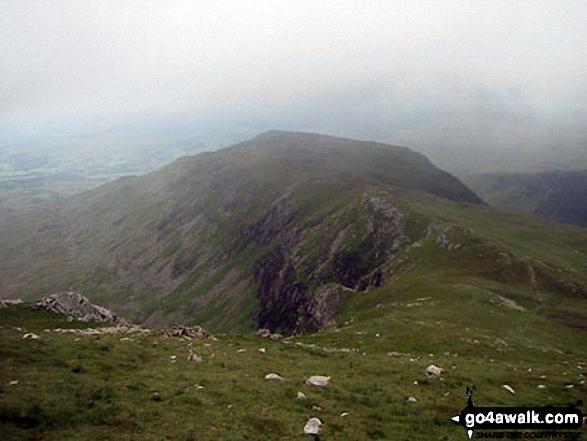 Gau Graig from Mynydd Moel summit