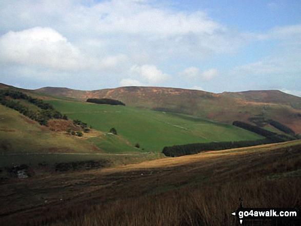 Moel Sych from Cwm Maen Gwynedd