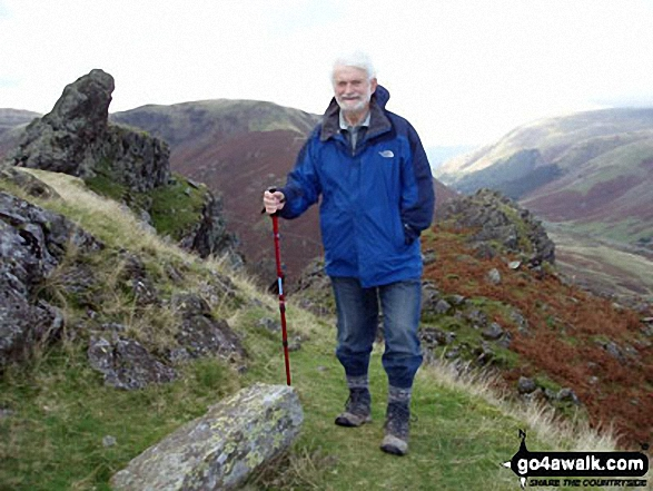 My husband Eric on Helm Crag