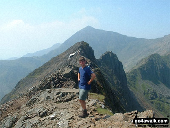 Me on Crib Goch (en-route to Snowdon)