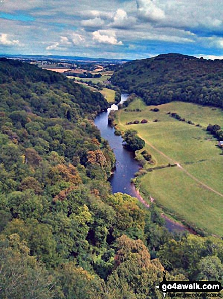 The River Wye from  Symonds Yat Rock