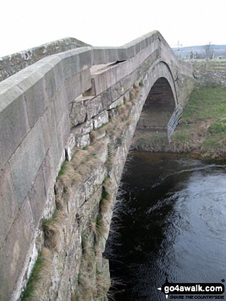 Doddington Bridge in a poor state of repair