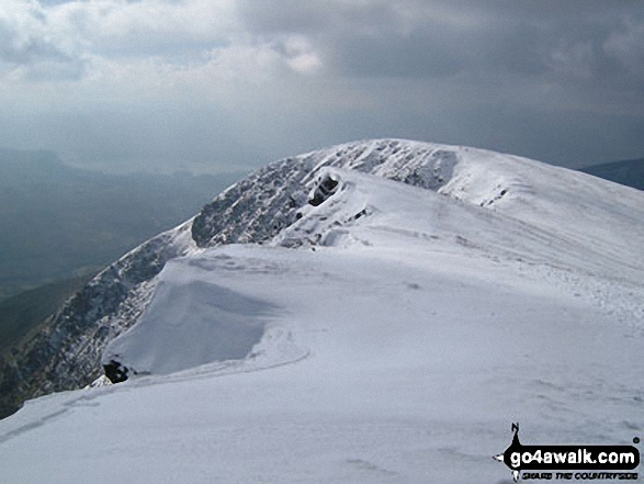 Blencathra or Saddleback (Hallsfell Top) Photo by Andy Brown