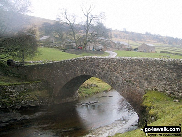 Bridge over The River Wharf at Yockenthwaite