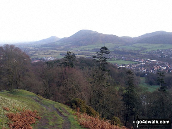 Caer Caradoc Hill from Ashlet, The Long Mynd