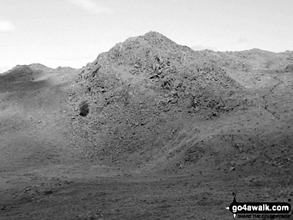 Great Stickle (Dunnerdale Fells) from the summit of Dunnerdale Fell (Broughton Mills)