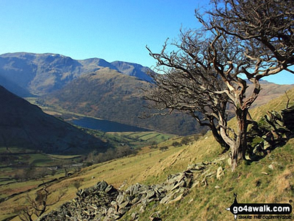 Dove Crag, Hart Crag and Fairfield dominate the skyline beyond Brothers Water