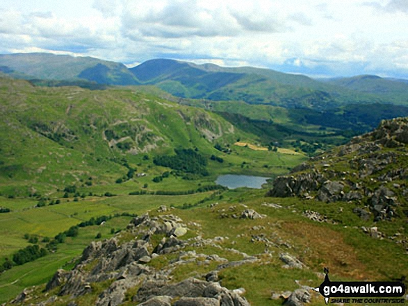 Little Langdale from Wetherlam Edge