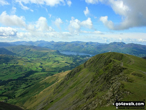 Knowe Crags from Hallsfell Top (Blencathra or Saddleback)