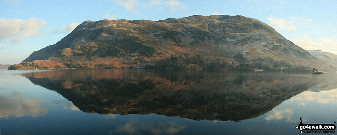 High Dodd (Sleet Fell) and Place Fell across Ullswater from Mossdale Bay near Glenridding