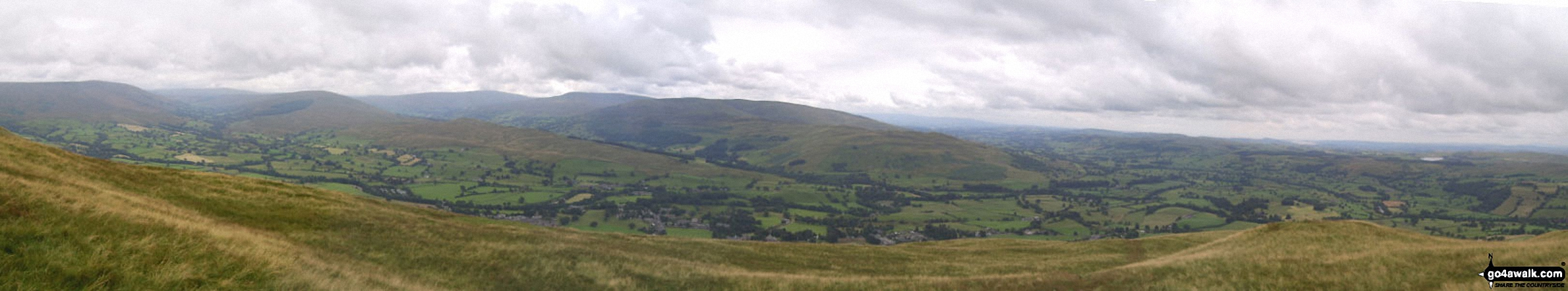 Sedbergh from Arant Haw