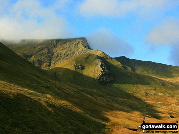 Atkinson Pike and Sharp Edge from Mousthwaite Comb